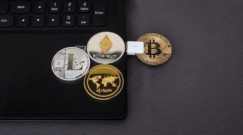 Verschiedene Kryptowährungen