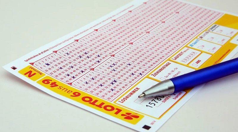 Spielschein für Lotto